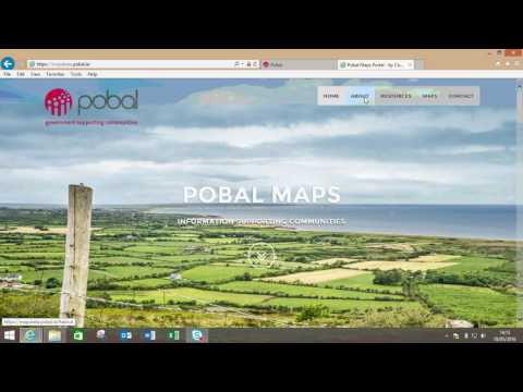 1  How to Access Pobal Maps and the Home Screen