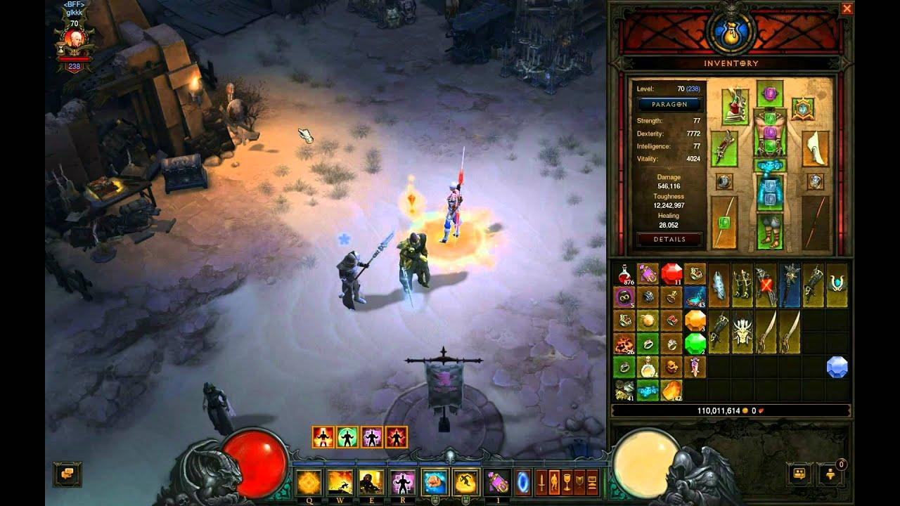 Download Diablo 3: Patch 2.1 Monk build 1