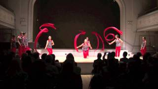lotus music & dance (chinese ribbon dance) part 3