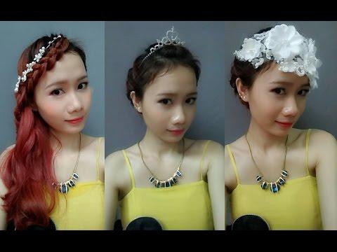 Bridal Hairstyles - Tự Tết 2 Kiểu Tóc Cô Dâu Sang Chảnh - Phụ Kiện Tóc Dressgal