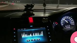 Kya hua tera wada | Car driving status | Midnight drive | Honda Civic | Heartbroken | Sad song