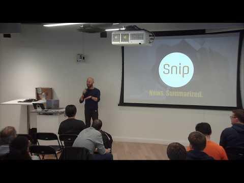 Snip - Fighting Fake News on the Blockchain - SF Blockchain Meetup
