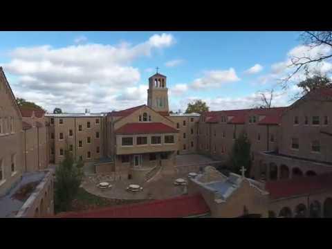 St. Felix Catholic Center - Huntington, Indiana - Aerial Video