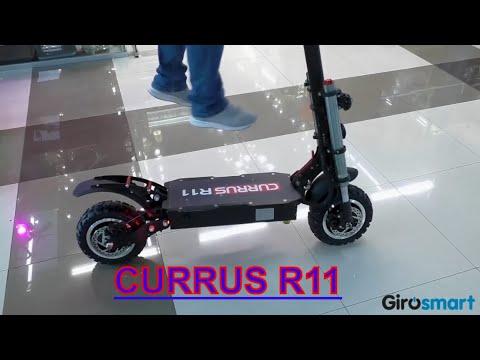 Элекросамокат Currus R11 краткий обзор Girosmart курус р11 2019 2020
