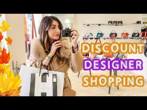 DESIGNER OUTLET SHOPPING! | Vlogtober