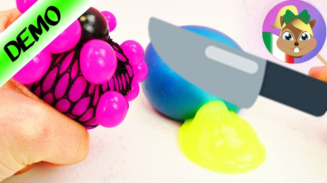 Squishy Mesh Ball Nerede Satlllr : Squishy mesh ball: proviamo a vedere cosa c  e dentro! - YouTube
