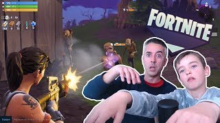 PLAYING FORTNITE MODE SAVE THE WORLD #1
