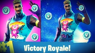 Rookie Player New Epic Brite Gunner Meteor Shower! Fortnite Season 4 Battle Pass Giveaway At 2.7K