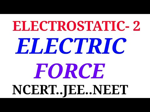 ELECTRO STATIC (COULOMB FORCE)