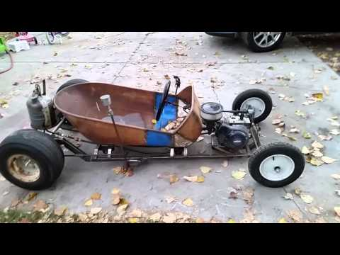 rat rod go kart 2 youtube. Black Bedroom Furniture Sets. Home Design Ideas
