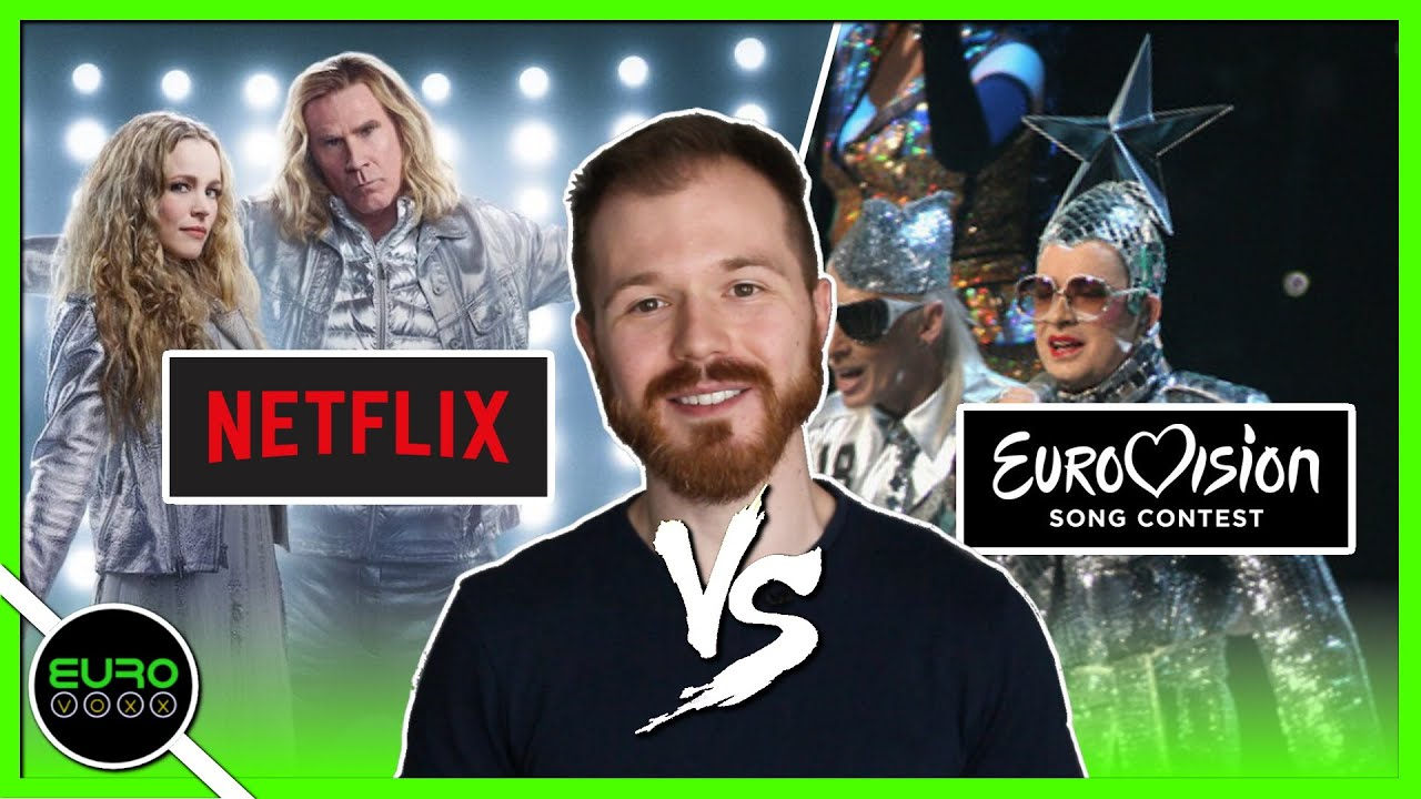 WILL FERRELL'S EUROVISION vs THE REAL EUROVISION! (MOVIE REVIEW)