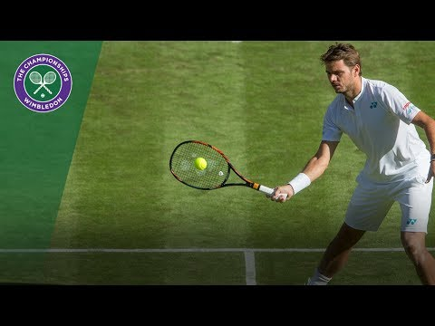 Stan Wawrinka v Daniil Medvedev highlights - Wimbledon 2017 first rouund