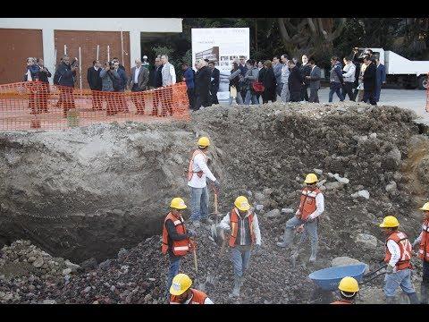 Supervisión de trabajos de reconstrucción en escuelas de la Ciudad de México