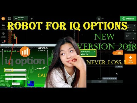 The Best Robot For IQ OPTION Never loss accurate 100% live trading  NEW TRICK – iq option strategy