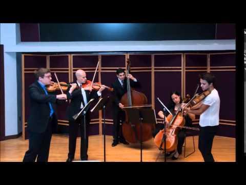 Geneva Music Festival: Mendelssohn String Octet in E Flat Major, Opus 20 Movement 1