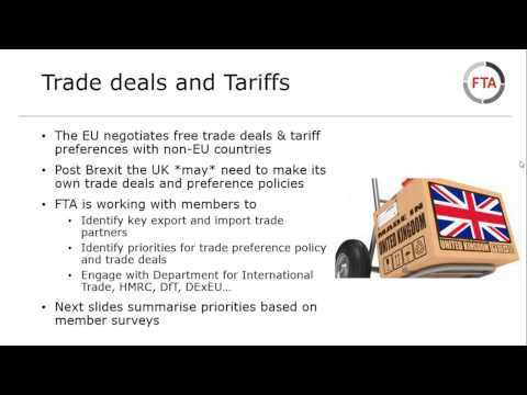 Brexit - what are the implications for logistics - November update 2016