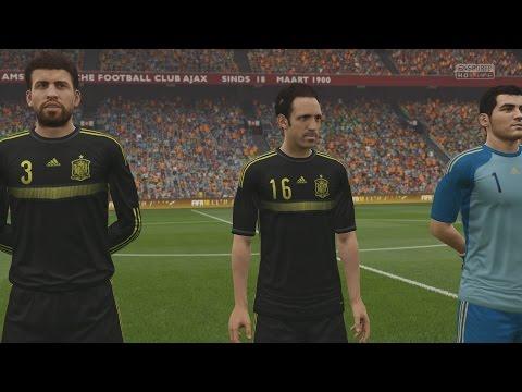 EA SPORTS FIFA 16 - Netherlands v Spain Gameplay (Hazy) [1080p 60FPS HD]