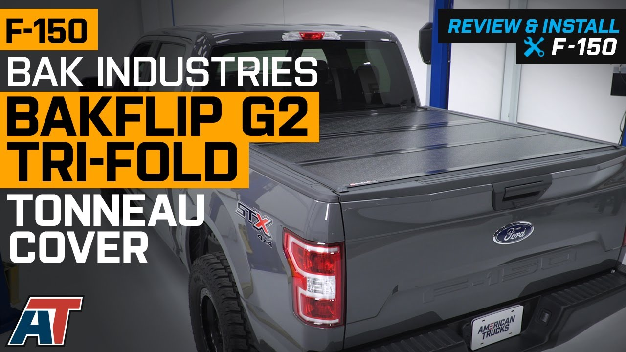 2015 2020 F 150 Bak Industries Bakflip G2 Tri Fold Tonneau Cover Review Install Youtube