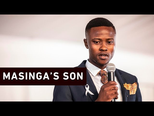 Masinga's son: 'My dad was a great human being'