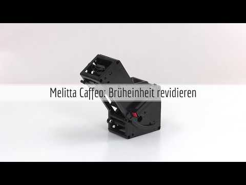 Bruheinheit Von Melitta Caffeo Zerlegen Reinigen Und Revidieren Youtube