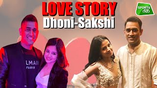 SPECIAL: LOVE STORY EP 1- MS Dhoni & Sakshi Rawat Anniversary Special | Dhoni-Sakshi Marriage Video