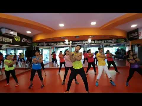 Kudiye Nakhra Tera Ni Bollywood song by Suresh Sonowane  SFC fitness and Zumba fitness