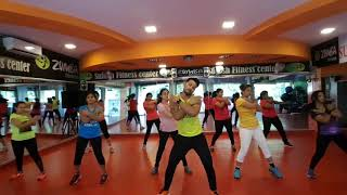 Kudiye Nakhra Tera Ni Bollywood song by Suresh Sonowane  SFC fitness and Zumba fitness
