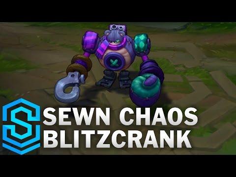 Sewn Chaos Blitzcrank Skin Spotlight - League of Legends