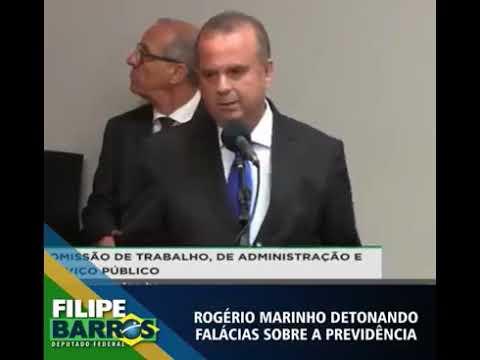 Vídeo de Rogério Marinho detonando críticas à Nova Previdência viraliza na web