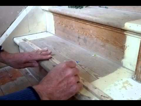 Tightening Squeaky Stair Treads Risers Youtube