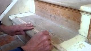 Tightening Squeaky Stair Treads Risers