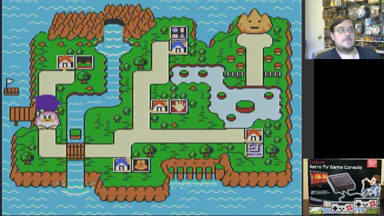 Lexibook Retro TV Game Console part 4: Games #151-200 brief game play