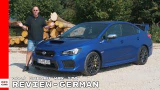2019 Subaru WRX STI Review - German