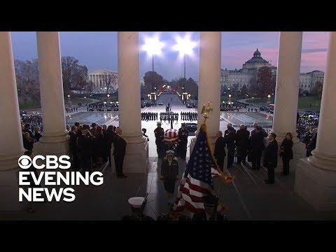 America honors former President George H.W. Bush