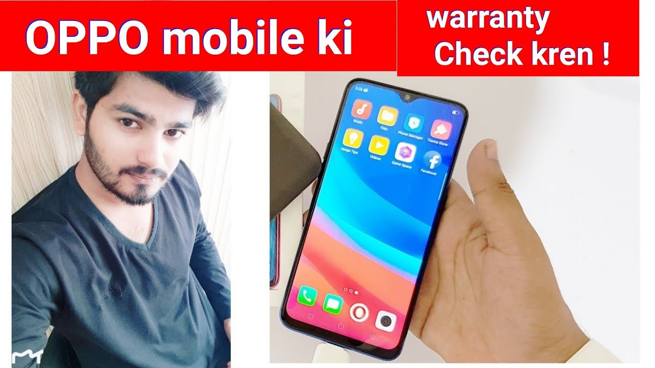 How To Check Online warranty OPPO Mobile