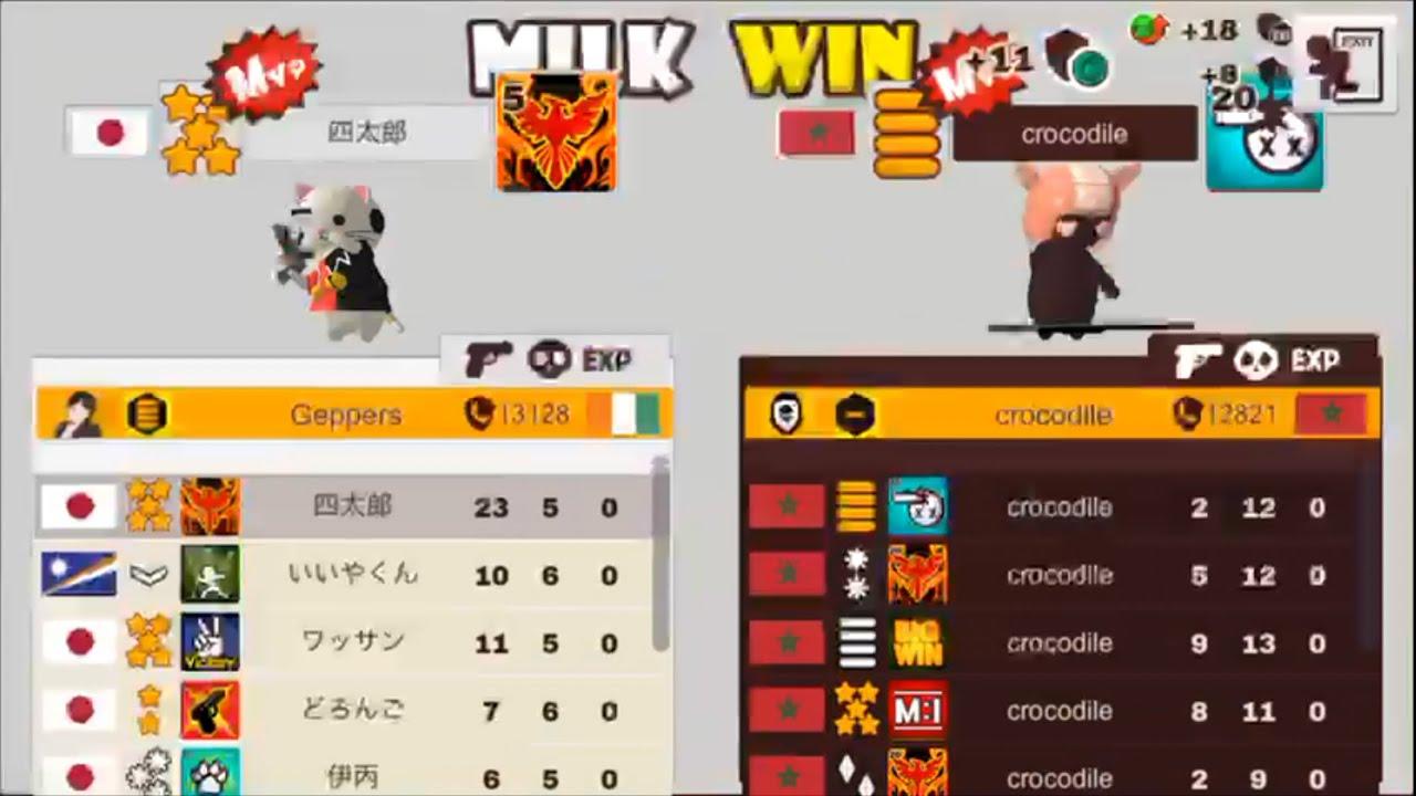 【ミルクチョコ】世界6位クランのクラン戦 四太郎ゲー