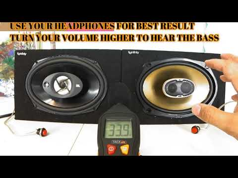 Stop Buying this Polk Audio DB691 6x9 VS JBL Stage 9603 6x9 Clean Bass and Vocal test