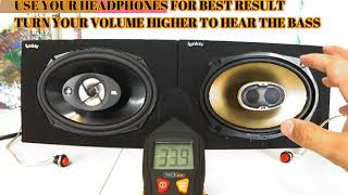 Stop Buying BS! Polk Audio DB691 VS JBL Stage 9603 6x9 car audio subwoofers midbass midrange speaker