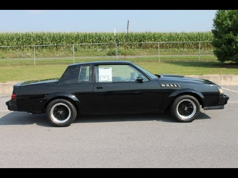 1987 buick gnx for sale all collector cars walk around video youtube. Black Bedroom Furniture Sets. Home Design Ideas