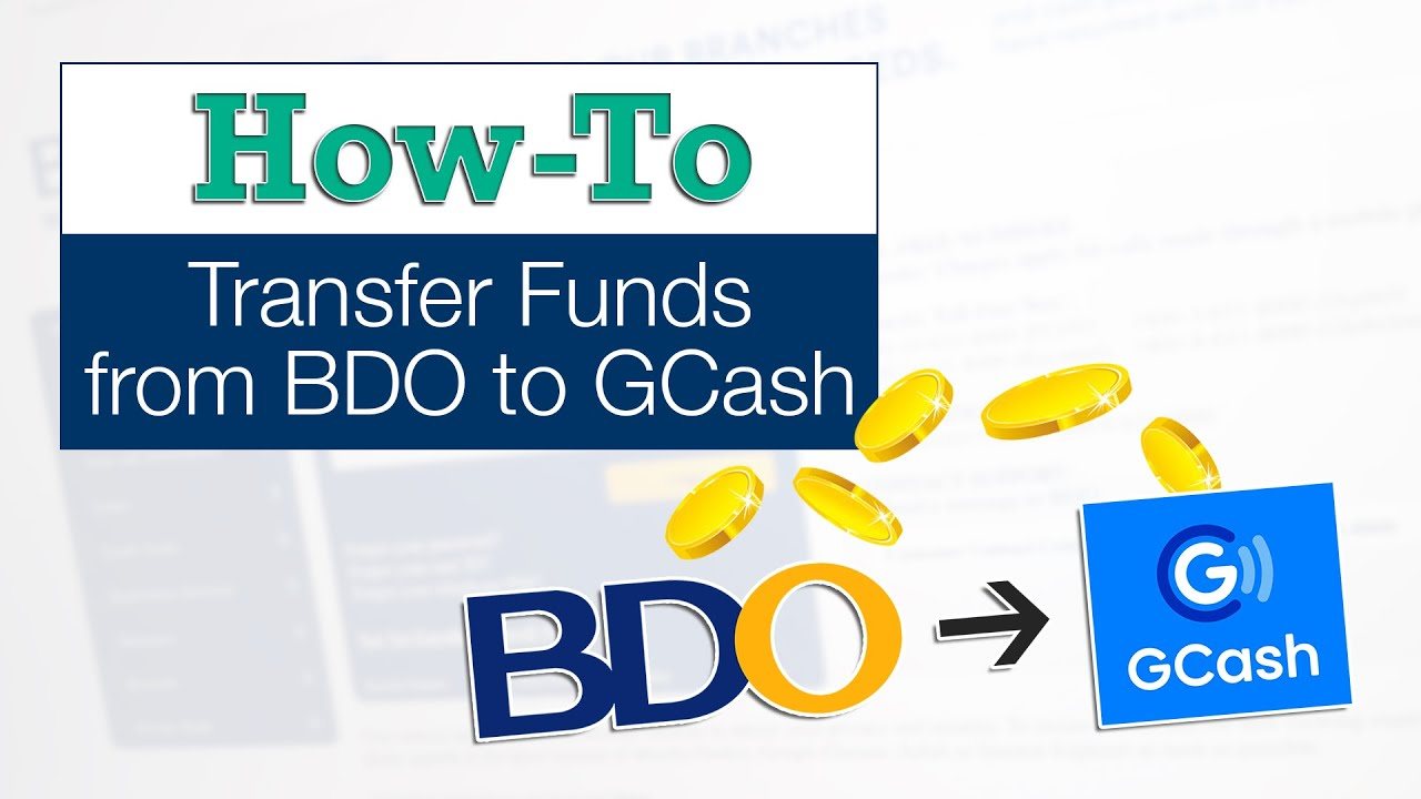 Bdo To Gcash How To Transfer Money Online Payment Or Cash In The Poor Traveler Itinerary Blog