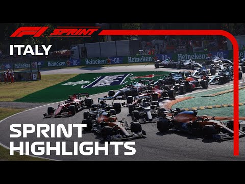 F1 Sprint Highlights   2021 Italian Grand Prix   Crypto.com