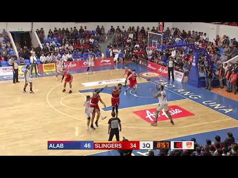 San Miguel Alab v Singapore Slingers | CONDENSED HIGHLIGHTS | 2018-2019 ASEAN Basketball League