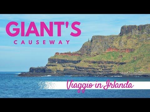 Escursione alla Giant's Causeway - viaggio in Irlanda