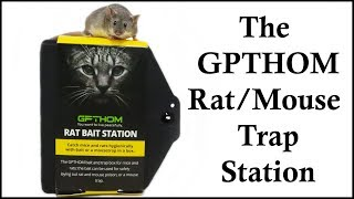 The GPTHOM Rat/Mouse Trap Station - Name The Opossum - Mousetrap Monday