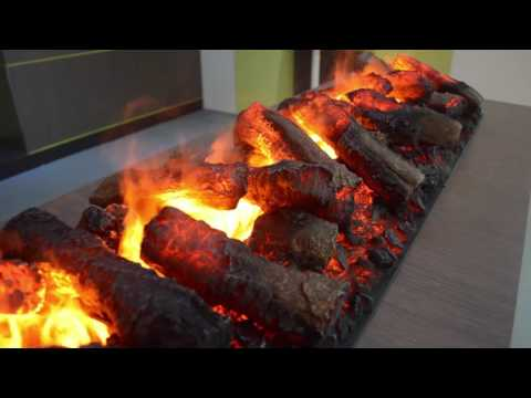 Electric fireplace Dimplex OMC with logs