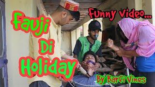 Fauji Di Holiday   BARFI VINES   Kangra Comedy   Himachali comedy   Pahari Funny video   Himachali