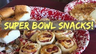 Our Favorite Super Bowl Snacks!