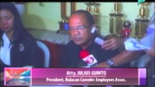 Election officers sa Bulacan, nangangamba sa pagka-unsyame ng recall elections || Mar. 24, 2015