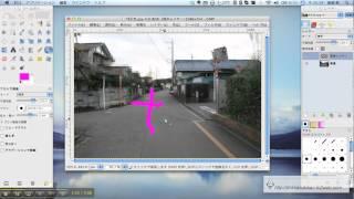 GIMPでレイヤーの基本