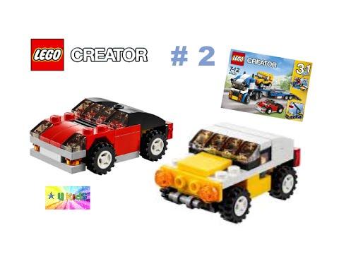 สอนต่อเลโก้รถ รถจิ๊ป รถแข่ง เลโก้ครีเอเตอร์ 31033 #2 รีวิวเลโก้